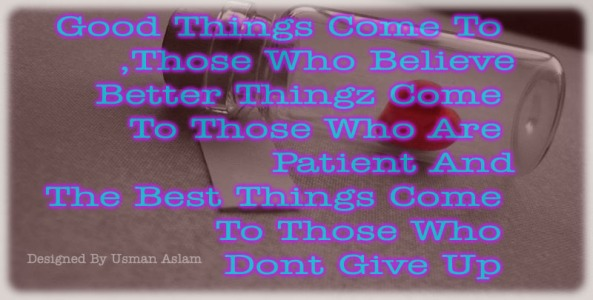 Good Things / English Quotes